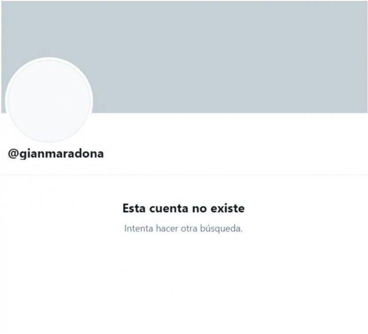 Gianinna Maradona decidió cerrar las redes sociales tras un rumor que involucra a Osvaldo con su ex.