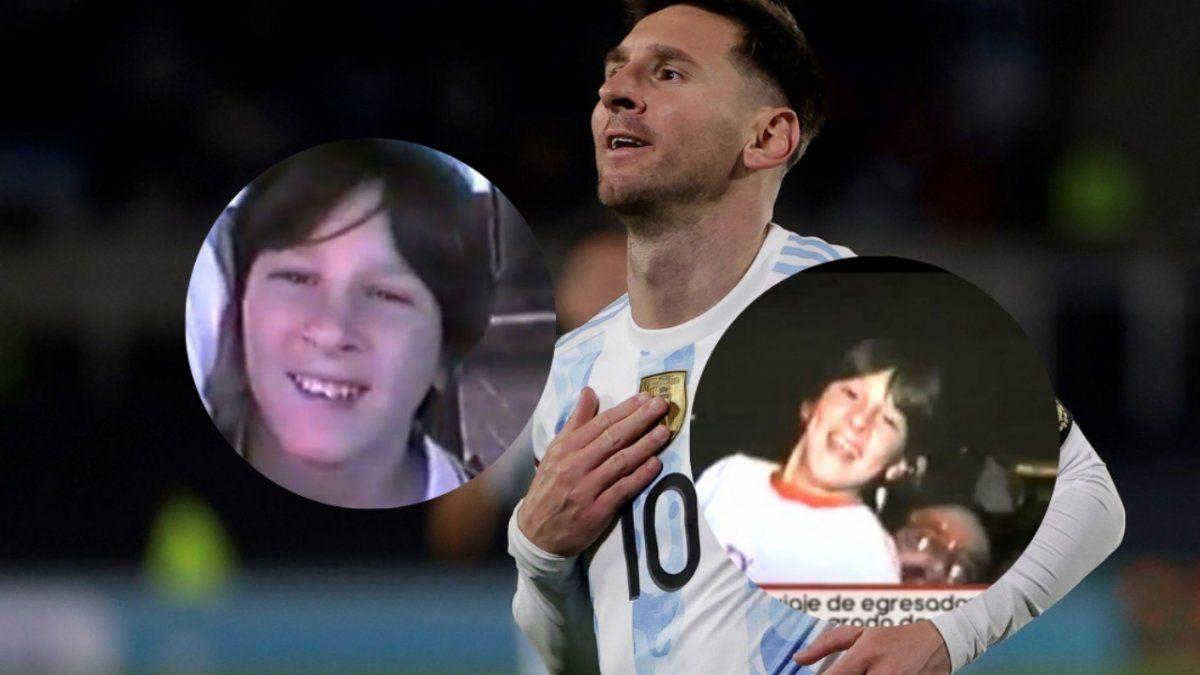 Mostraron un video de Messi en su viaje de egresados a los 12 años en Carlos Paz.