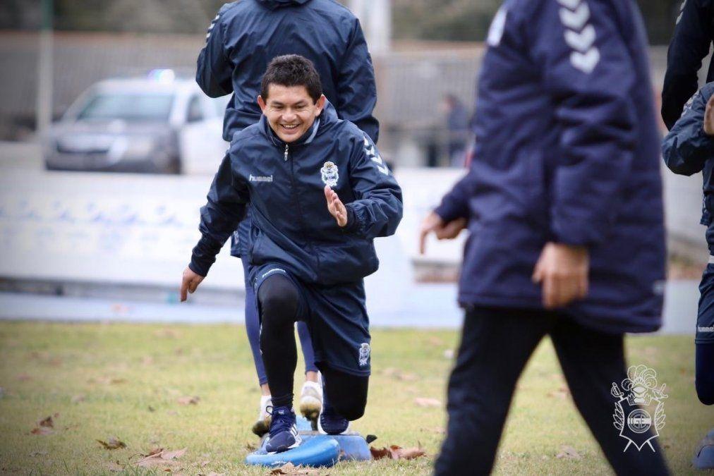 Luis Pulga Rodríguez continúa su preparación y no jugará para Gimnasia y Esgrima de La Plata ante Rosario Central por el Torneo de la Liga Profesional.