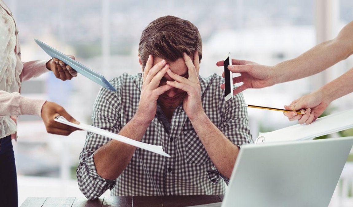 Efectos y síntomas del estrés en el cuerpo