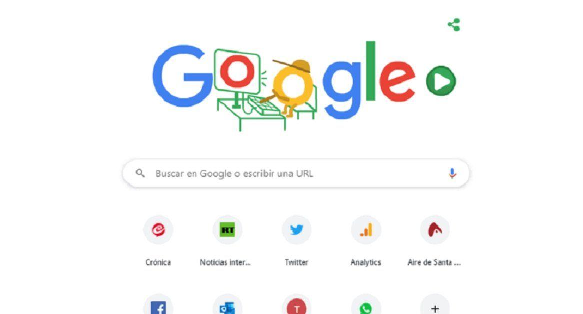 Google publicará diariamente doodles con juegos interactivos