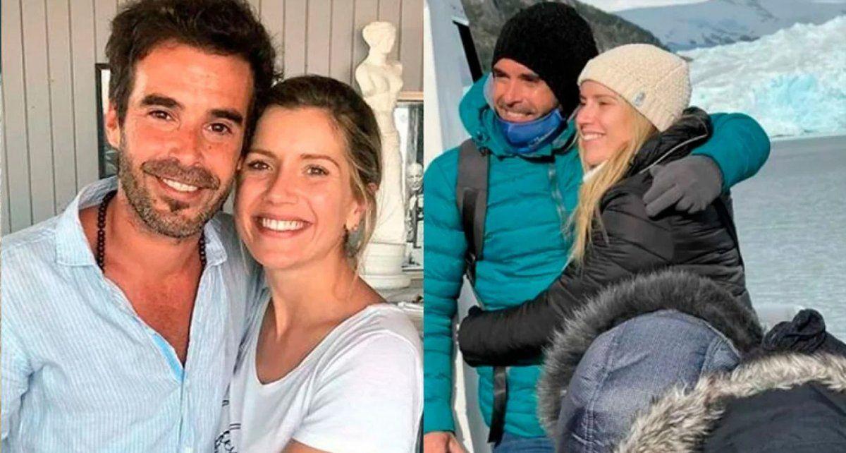 Laurita Fernández y Nicolás Cabré presenciaron el sismo en Santa Cruz durante su viaje al Chaltén