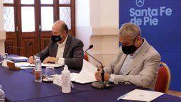 A principios de enero, el ministro Jorge Ferraresi firmó junto al gobernador Omar Perotti convenios para avanzar con la ejecución de viviendas en la provincia de Santa Fe.