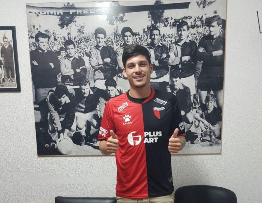 Colón presentó a otro refuerzo: Agustín Doffo es nuevo jugador sabalero