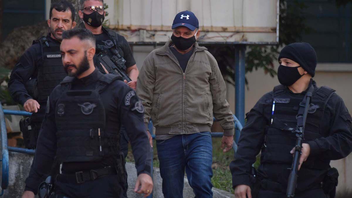 Queiroz fue detenido en un operativo realizado en la casa del abogado del jefe del Estado