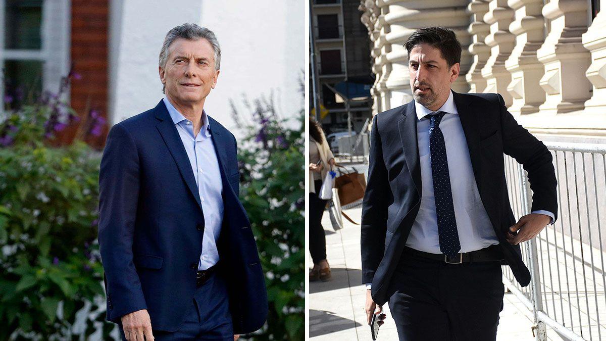 El expresidente Mauricio Macri y el ministro de Educación