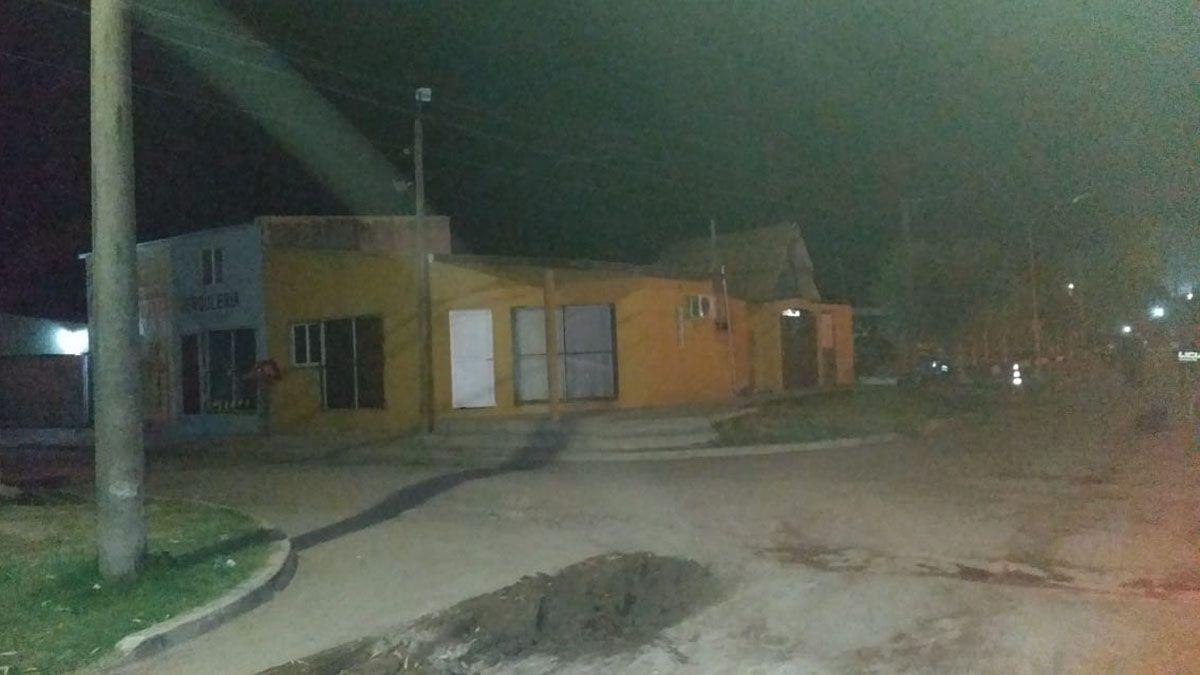 Barrio Santa Rosa de San Javier: aquí se produjo el ataque