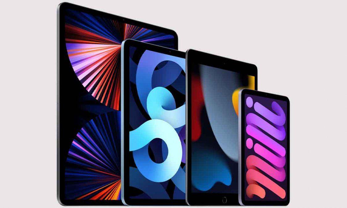 Gran renovación para las tabletas de Apple.