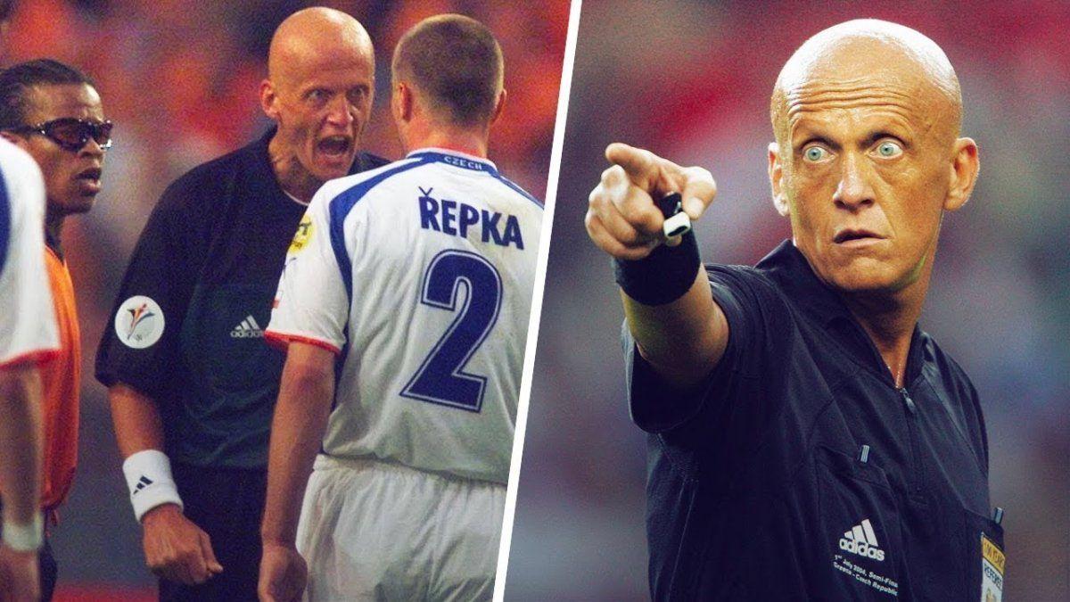 Los árbitros también pueden ser estrellas: la vida de Pierluigi Collina, Il Signori del Calcio que cumple 60 años