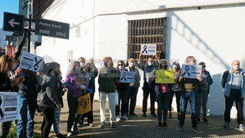 Fomento 9 de Julio: vecinos autoconvocados se manifestaron contra la inseguridad