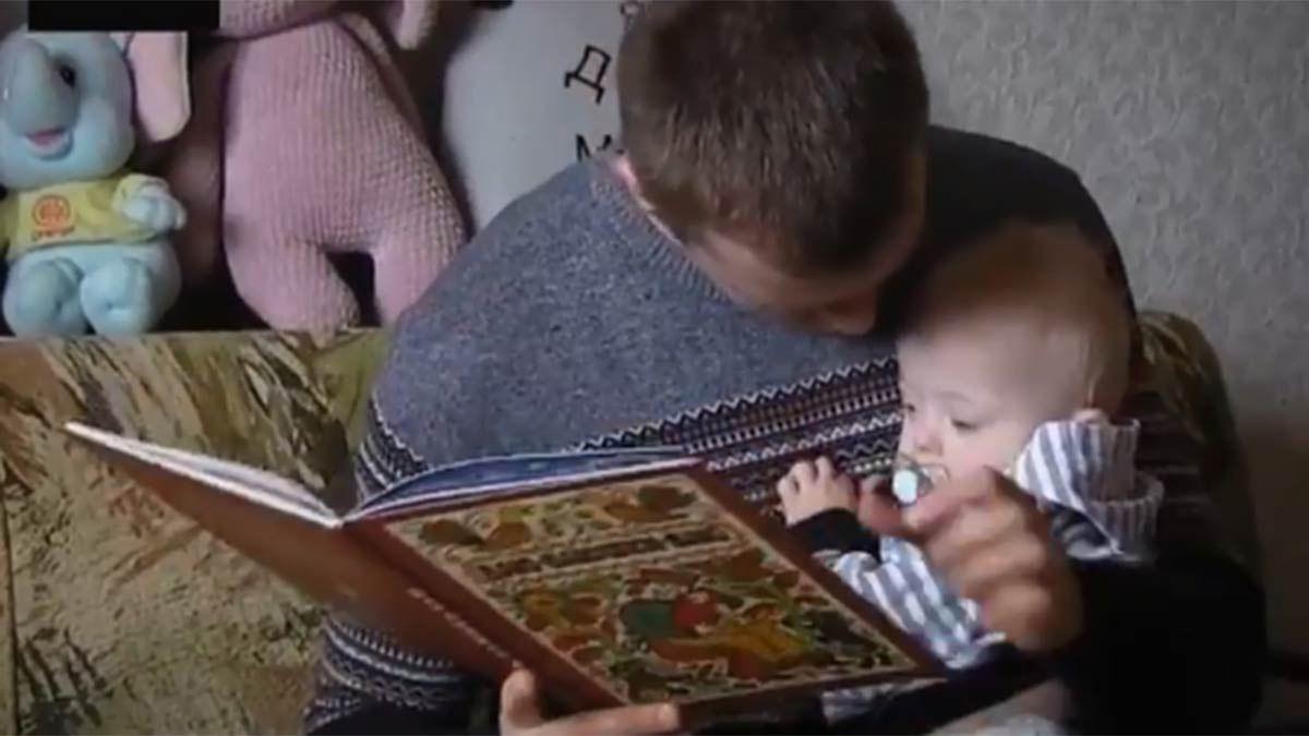 El padre soltero que cría a su hijo con síndrome de Down