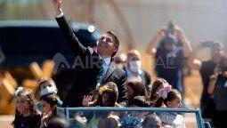 Brasil: El presidente de Brasil, Jair Bolsonaro, participa del acto por el Día de la Independencia en una ceremonia oficial en el Palacio de la Alvorada, en la ciudad de Brasilia.