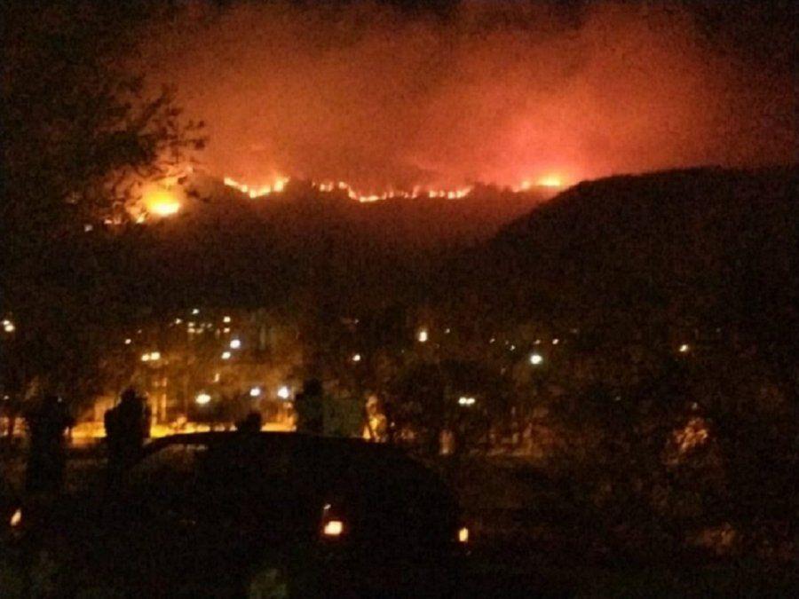 El siniestro afecta principalmente al barrio conocido como Sol y Río de Villa Carlos Paz