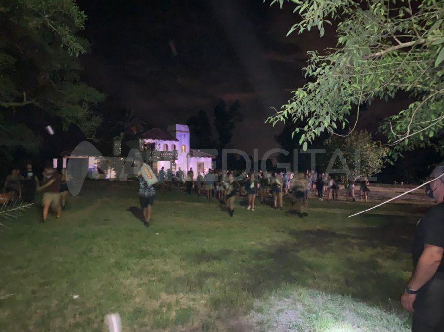 Foto ilustrativa: El evento clandestino se desarrollaba en Servando Bayo al 10.000