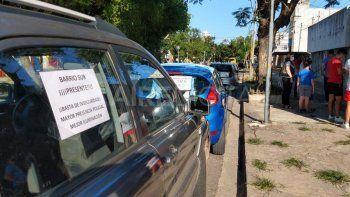 Caravana de vecinos de barrio Sur contra la inseguridad y los delitos violentos