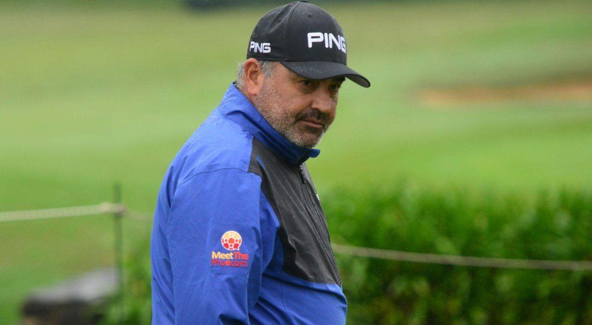 El golfista cordobés había sido internado hace horas con síntomas compatibles al covid-19.