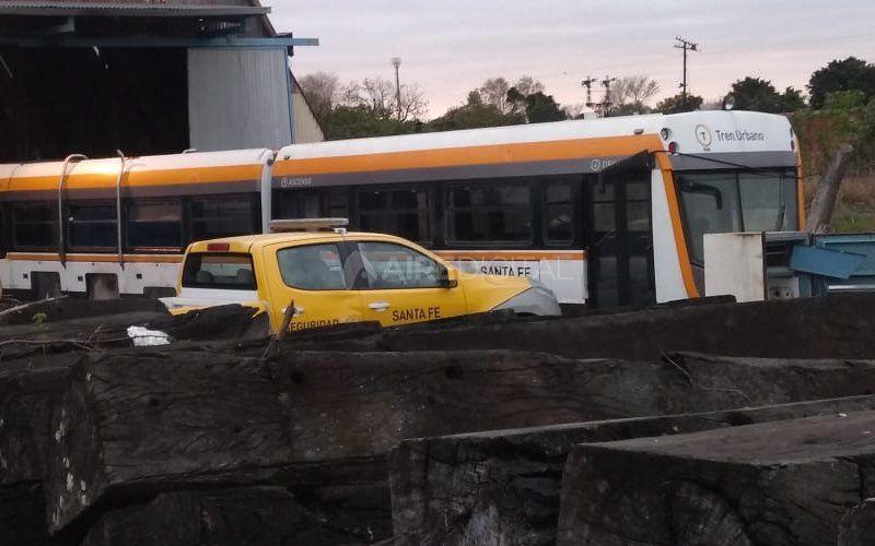 """Hace 30 días el Municipio """"escondió"""" el Tren Urbano y todavía no se sabe qué hará con las formaciones"""