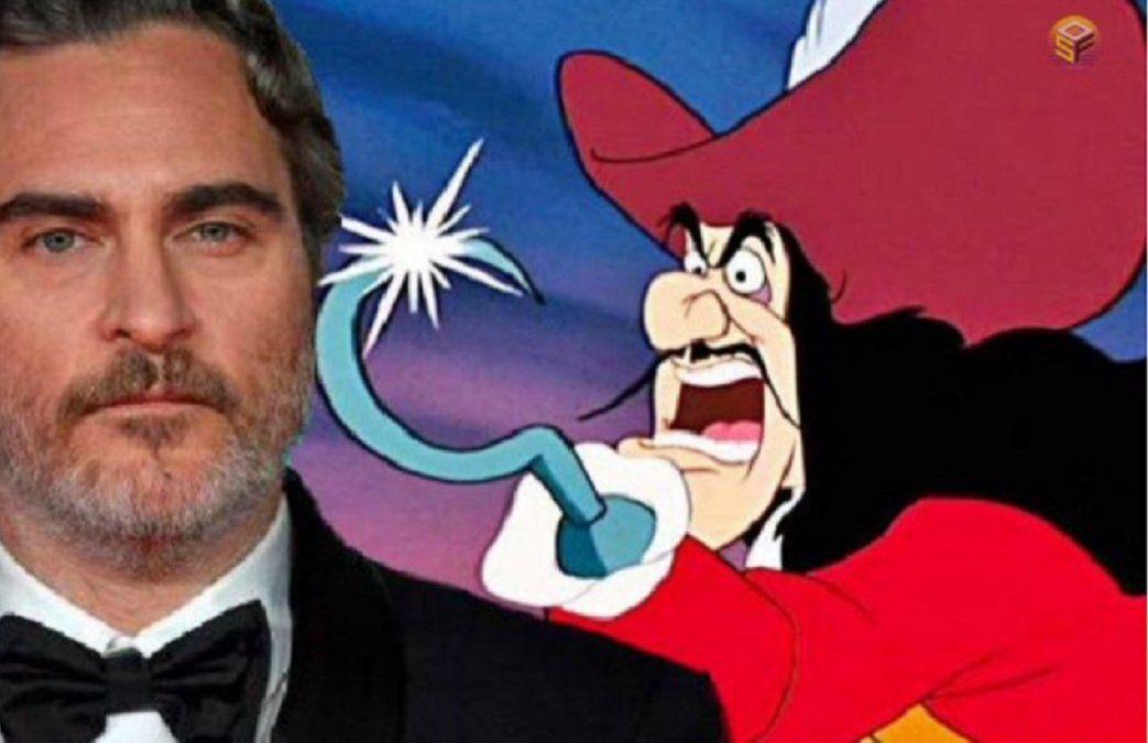 Disney quiere que Joaquin Phoenix sea el Capitán Garfio en una nueva versión de Peter Pan
