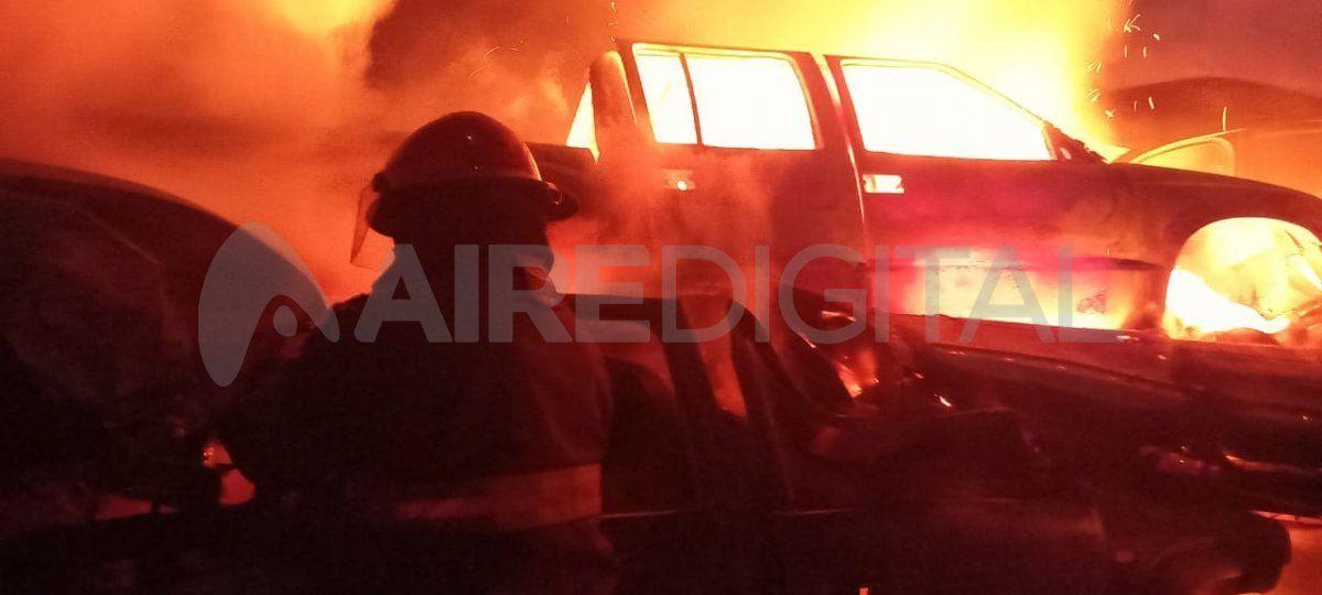 En mayo ya se había desatado un incendio de importante magnitud. Imagen de archivo.