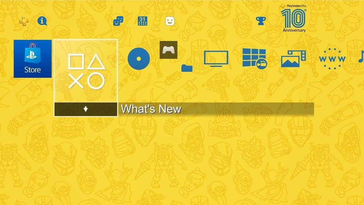 Sony obsequiará un tema gratuito en conmemoración de los 10 años del servicio Playstation Plus.