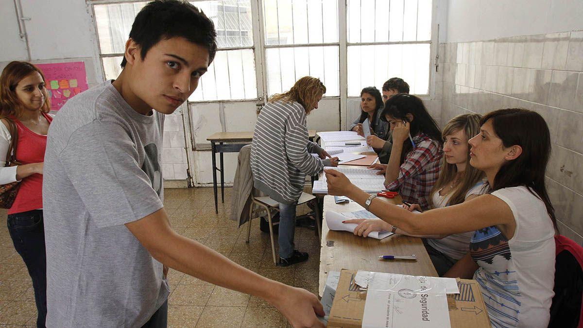 Según un informe sobre Voto joven publicado por del Ministerio del Interior de la Nación