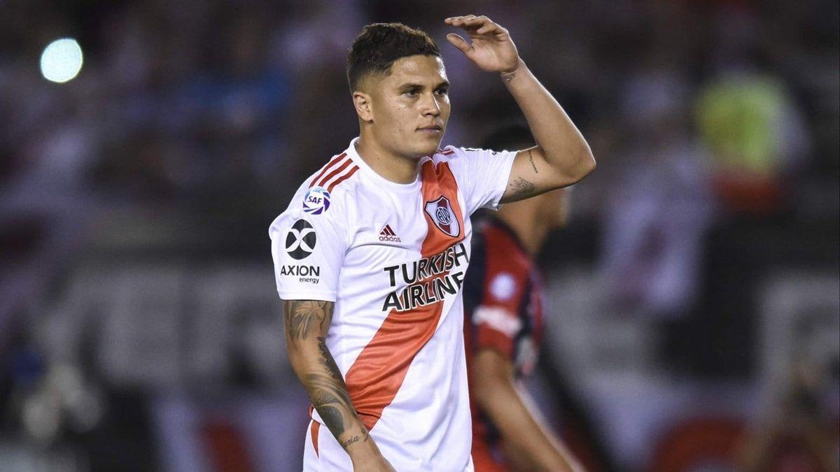Juanfer Quintero se pierde la final de Copa Argentina por lesión