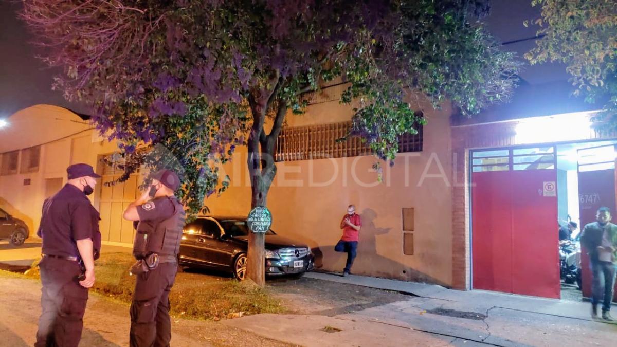 El ataque sucedió cerca de las 19.30 en barrio Belgrano.