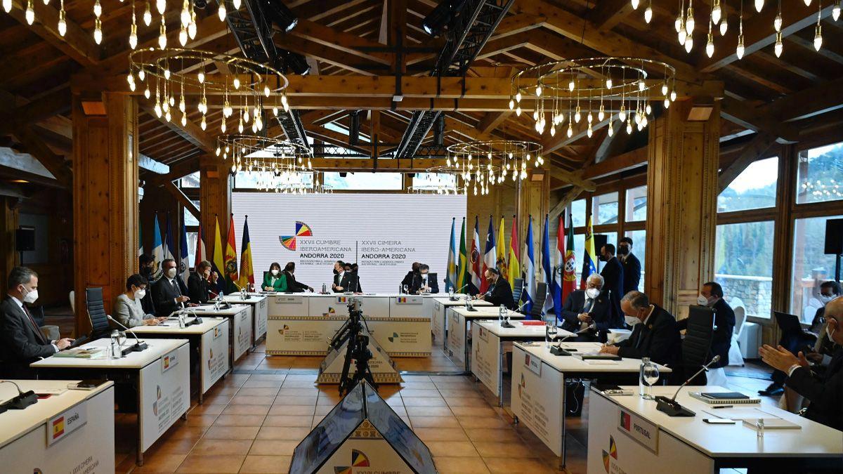La pandemia fue el tema central de una inédita Cumbre Iberoamericana semipresencial que se desarrolló en Andorra.