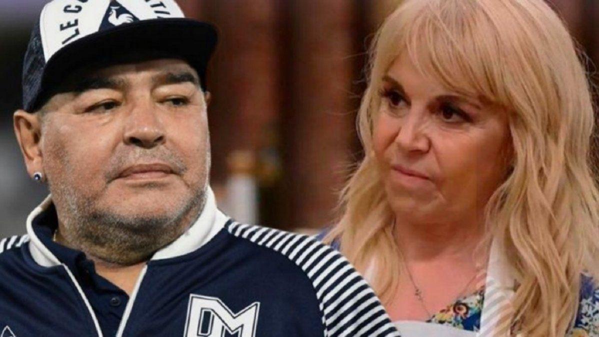 Claudia Villafañe fue contundente al hablar de la serie de Diego Maradona: Ocúpense de responder las cartas documento.