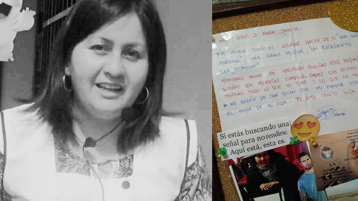 La carta que Vanesa Castillo escribió a su hija, quien entre el llanto y la frustración, espera justicia