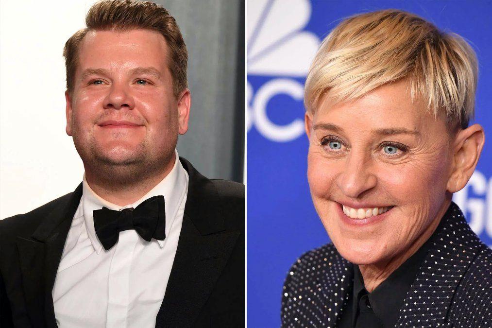 James Corden rompe el silencio ¿reemplazará a Ellen en su programa?