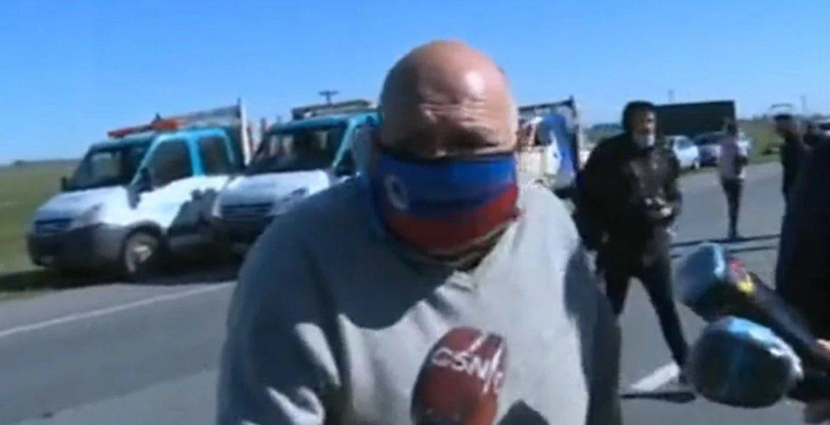 Habló el abuelo del bebé que murió en el triple choque de Ruta 2: Estoy destruido
