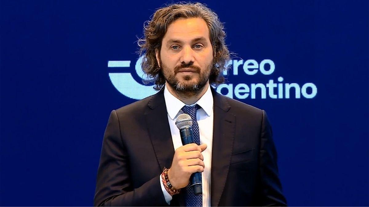 Santiago Cafiero participó de la presentación de la plataforma de comercio electrónico del Correo Argentino