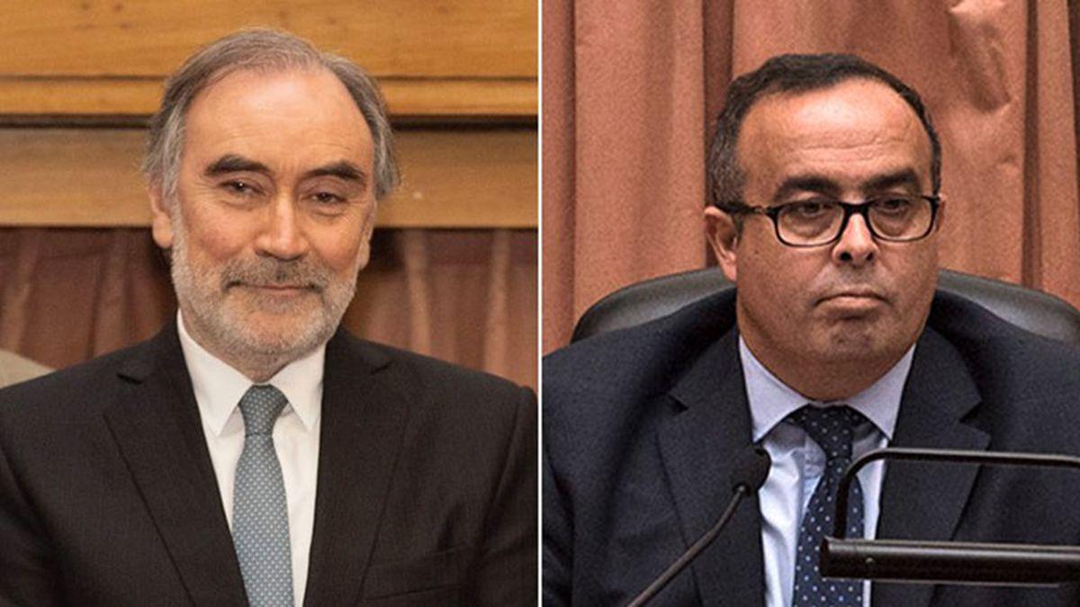 Los juecesLeopoldo Bruglia y Pablo Bertuzzi.