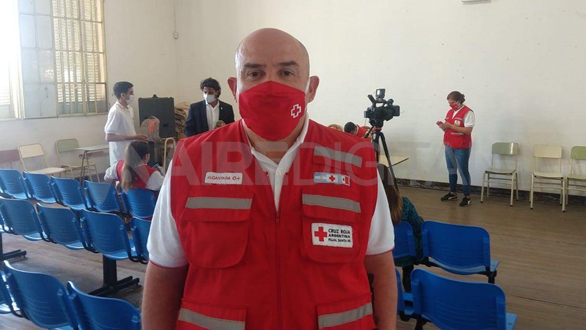 José Alcántara dijo en AIRE que se les está informando a los menores cómo activar el sistema de emergencia.