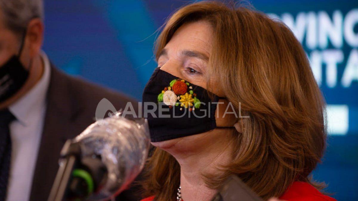 La ministra Silvina Frana había confirmado su resultado positivo el lunes