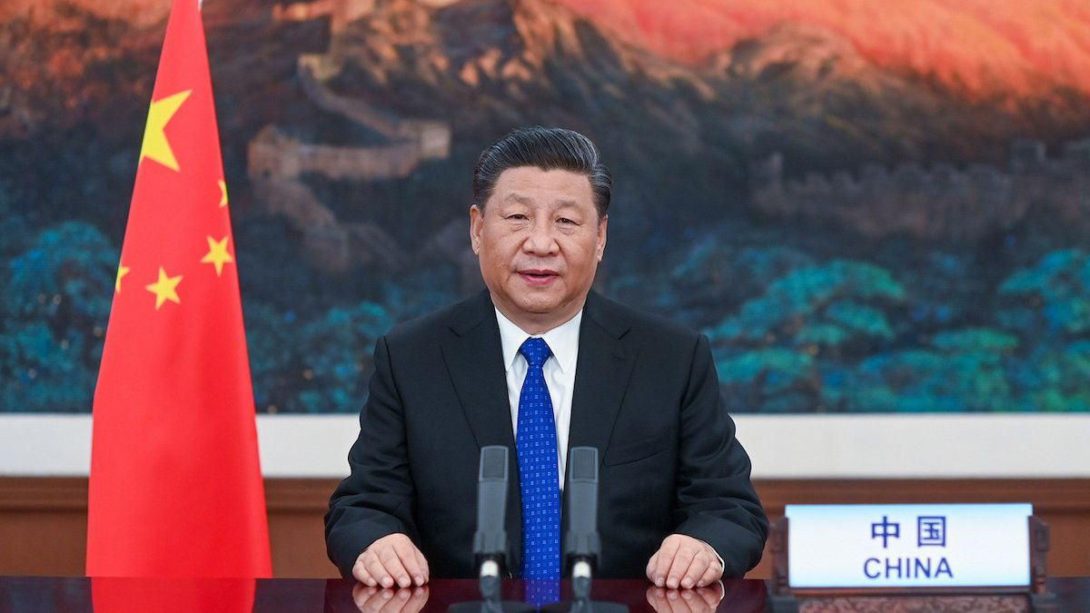 El presidente de China