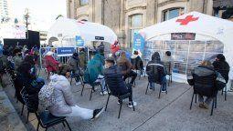 Este sábado comenzaron los testeos masivos en la ciudad de Santa Fe. Uno de los puntos estratégicos donde se llevan a cabo los hisopados es la Estación Belgrano.