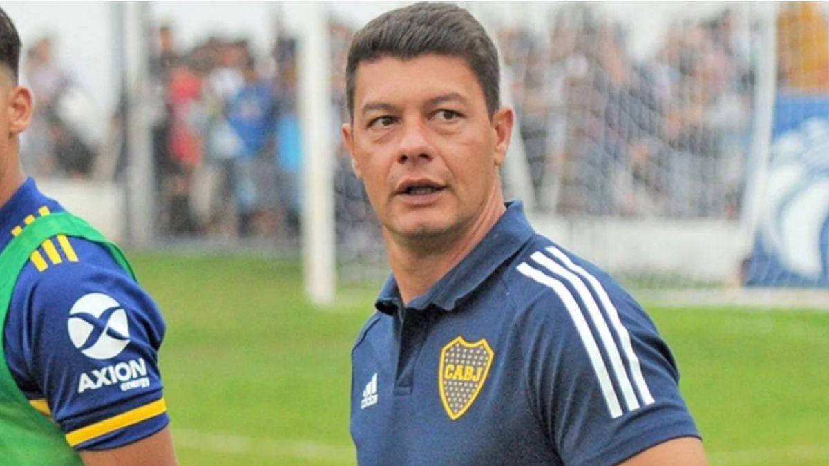 Sebastián Battaglia será el entrenador de Boca en el encuentro ante Banfield por el Torneo de la Liga Profesional.