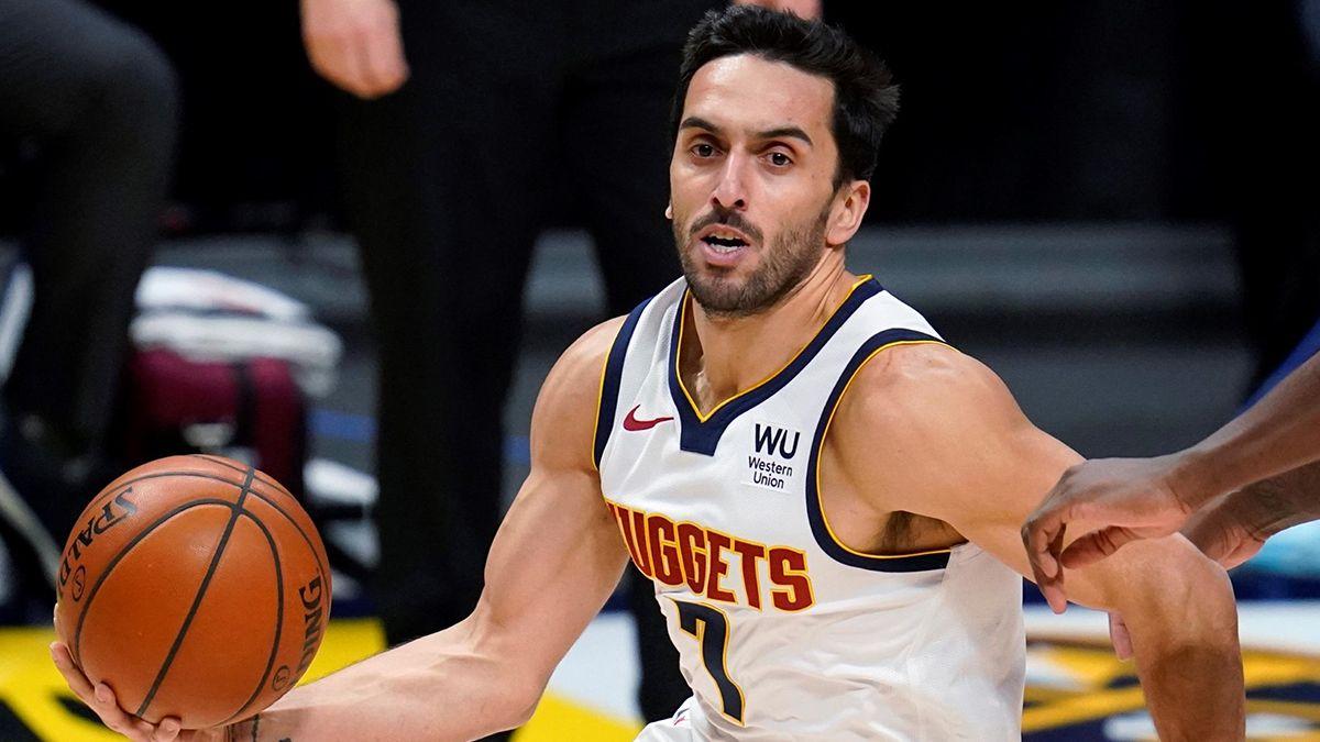 Facundo Campazzo sumó minutos en el triunfo de Denver Nuggets ante San Antonio Spurs por la NBA.