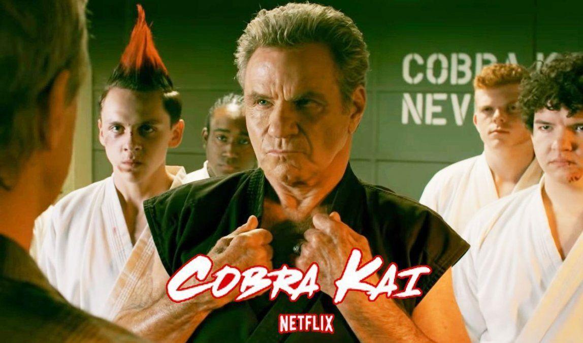 El hijo de John Kreese estuvo en la temporada 3 de Cobra Kai y no te diste cuenta