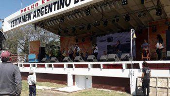 El gobernador Perotti participó del Festival de Jineteada de San Justo