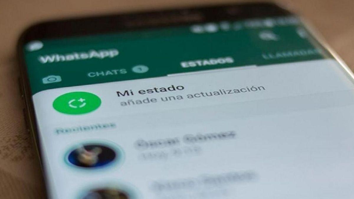 Estados de WhatsApp.