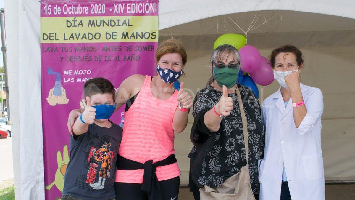 Día Mundial del Lavado de Manos: el Hospital Iturraspe realizó una jornada de concientización
