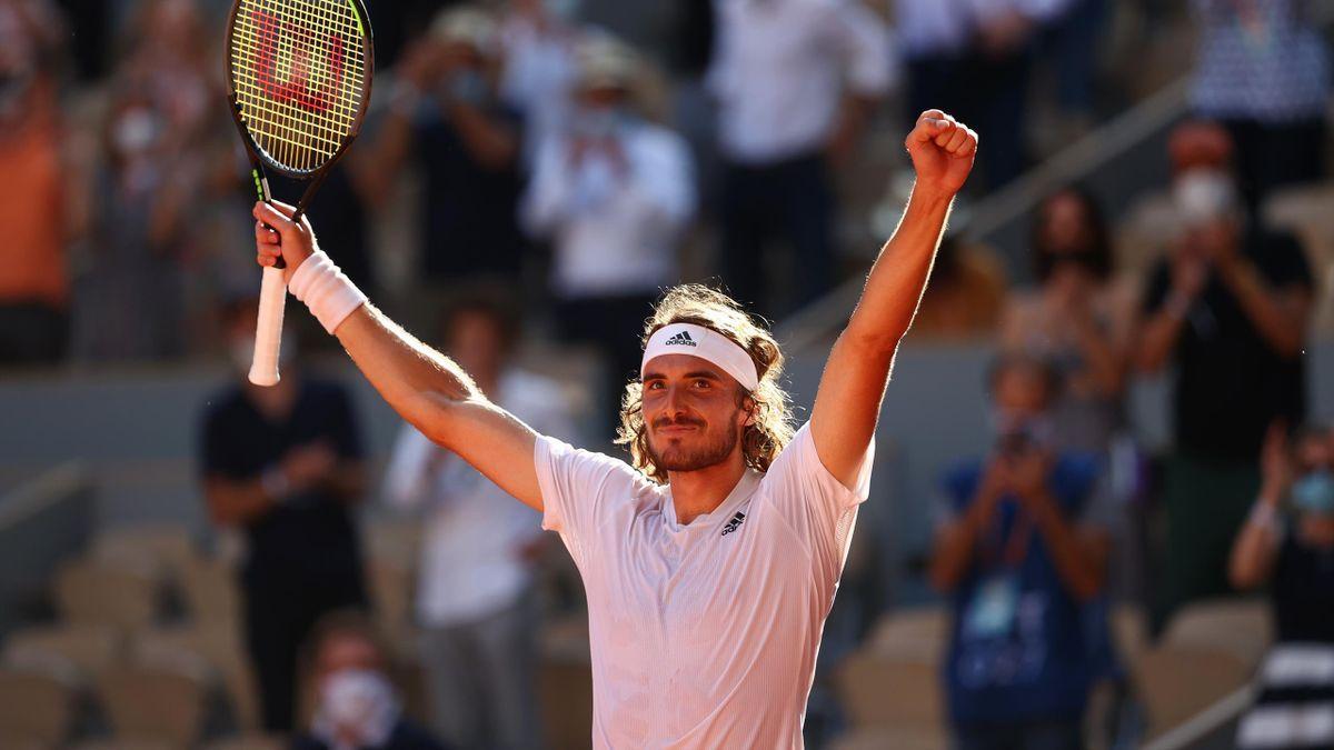 Stefanos Tsitsipas derrotó a Alexander Zverev se convirtió en finalista de Roland Garros