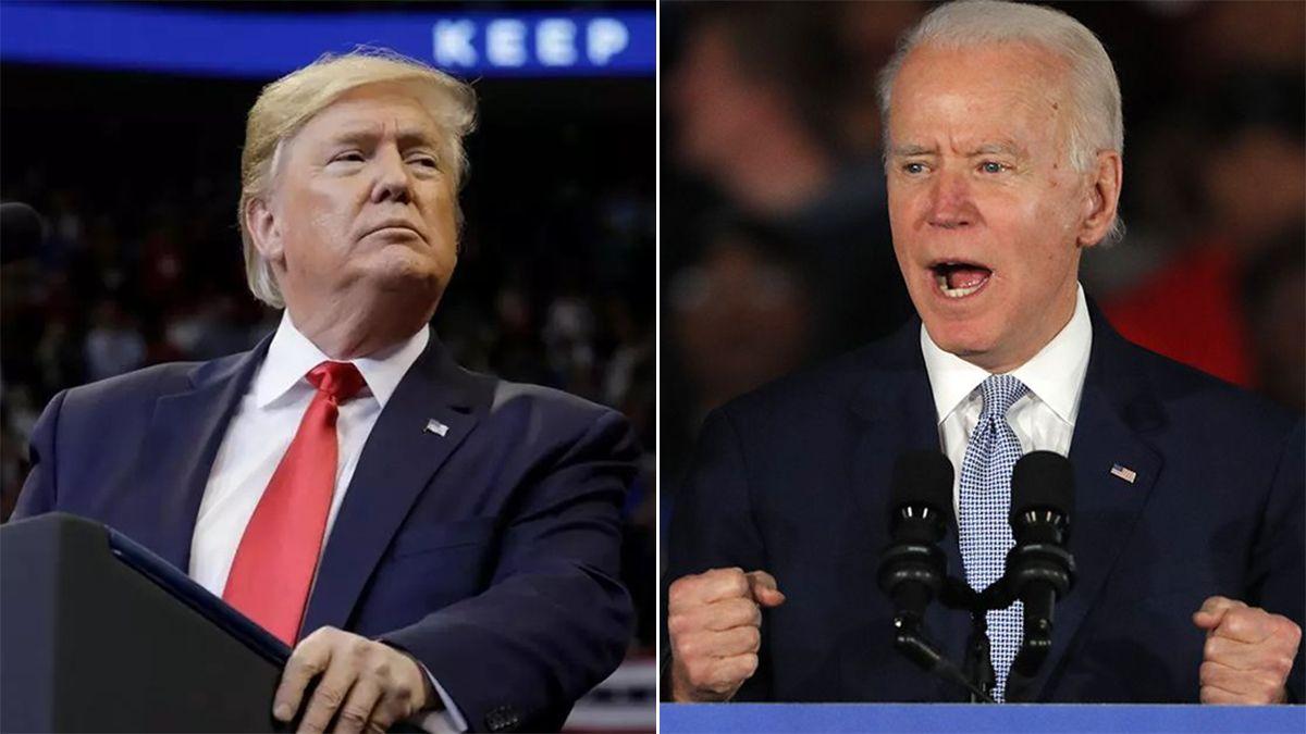 Donald Trump enfrentó a Joe Biden hace cuatro días