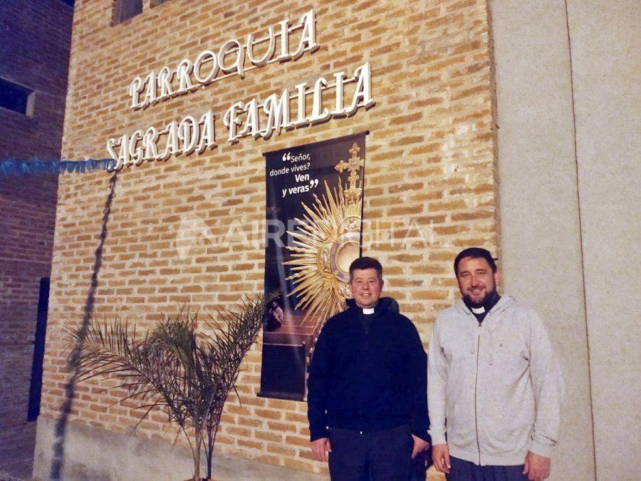 Una de las capillas de la parroquia fue objeto del accionar delictivo en dos oportunidades el mismo día.