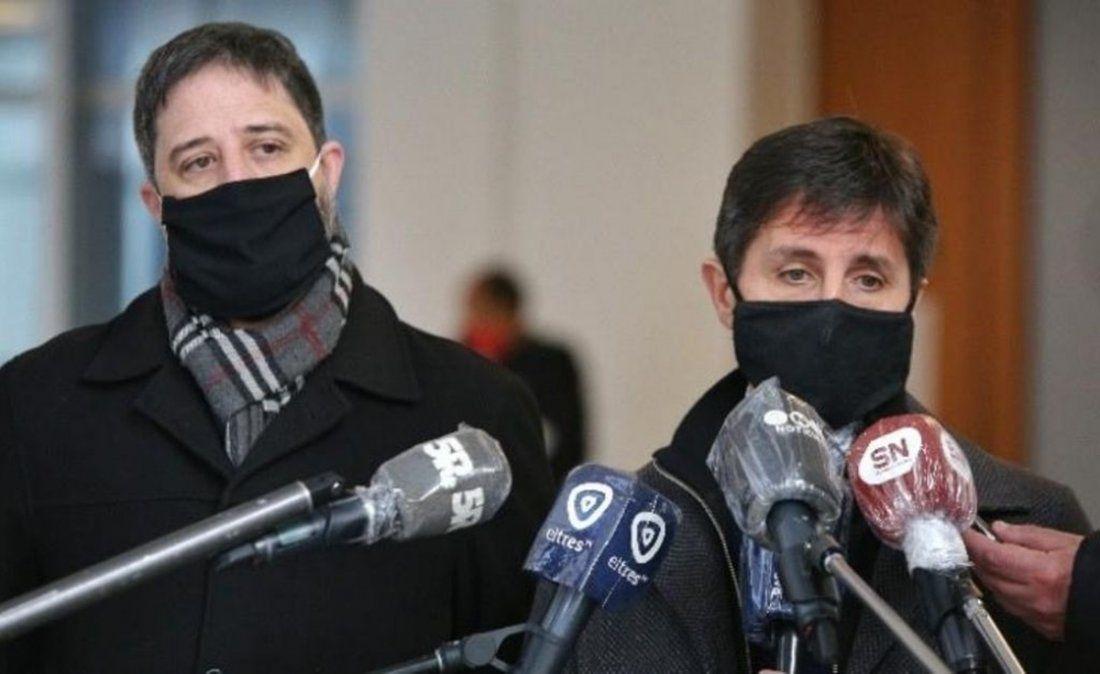 Los fiscales Matías Edery y Luis Schiappa Pietra