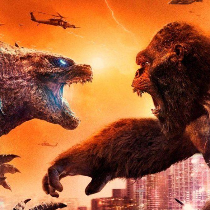 Godzilla vs. Kong se estrenó en cines.