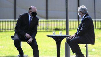 Fernández se reúne con Perotti y Schiaretti para anunciar obras del acueducto interprovincial